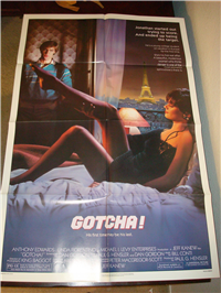 GOTCHA! (1985) Original American One Sheet