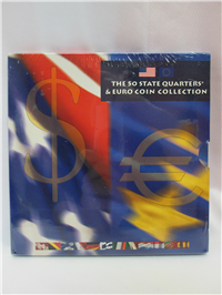 50 State Quarters Euro Coin Collection  (US Mint, 2002)