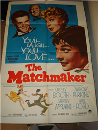 THE MATCHMAKER   Original American One Sheet   (Paramount, 1958)