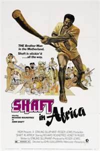 SHAFT IN AFRICA   Original American One Sheet   (MGM, 1973)