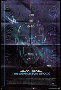 STAR TREK III: THE SEARCH FOR SPOCK   Original American One Sheet   (Paramount, 1984)