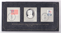 In Commemoration of the Inauguration of the United States Postal Service Commemorative Medal and Cachet (Franklin Mint, 1971)