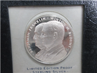 United States Postal Service Commemorative Silver Medal (Franklin Mint, 1971)