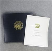 Franklin D. Roosevelt 100 Days Centenary Medals (Franklin Mint, 1982)