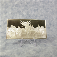 The Official Independence Hall Bicentennial Commemorative Ingot   (Franklin Mint, 1975)