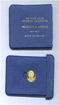 Franklin Mint  White House Historical Association Presidential Medal (one medal, 12.5mm, Gold)