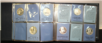 Franklin Mint  Special Commemorative Issues of 1974 Medals, First Edition Proofs (Sterling)