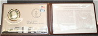 Franklin Mint  Museum of Medallic Art Official Dedication Medal and First Day Cover  (Sterling)