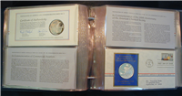 Franklin Mint  1974 Postmasters of America Medallic First Day Covers