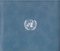 Franklin Mint  Official United Nations 1976 Commemorative Medal and First Day Covers Set of 5 (Sterling)