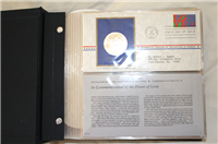 The 1973 Postmasters of America Medallic First Day Covers   (Franklin Mint)