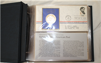 Franklin Mint  1972 Postmasters of America Medallic First Day Covers
