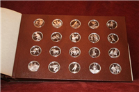 100 Greatest Events in the History of American Sports Medals Collection (Franklin Mint, 1977)