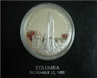 The Official American Space Flight Silver Anniversary Medals Collection   (Franklin Mint, 1981)