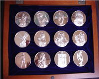 The Masterpieces of Rodin Medals Collection  (Franklin Mint, 1986)