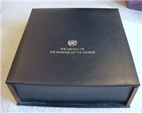 The Medals Of The Nations Of The World Commemorative Medallic Cachets  (Franklin Mint, 1976)