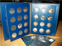 America In Space Medals Collection, Series 1 (Franklin Mint, 1970)