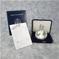 2003W American Eagle Silver Dollar Proof with Box & COA (US Mint)