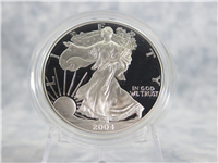 2004W American Eagle Silver Dollar Proof with Box & COA (US Mint)