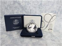 2008 US MINT American Eagle Silver Dollar Proof in Box with COA