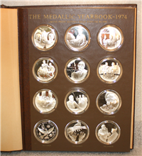 The 1974 Medallic Yearbook Medals Collection  (Franklin Mint, 1974)