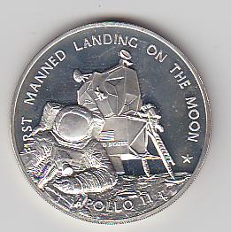 apollo 11 moon landing commemorative coin - photo #27