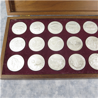 Men In Space Medals  (Danbury Mint)
