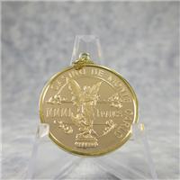 Official Casino de Monte Carlo 1000 Franc Solid Gold Chip (Franklin Mint, 1979)