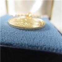 Bicentennial .500 Gold Pendant (Franklin Mint, 1976)