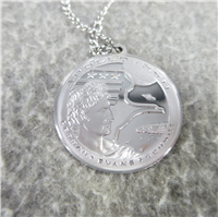 The Apollo 17 Eyewitness Sterling Silver Pendant (Franklin Mint, 1972)