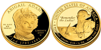 USA 2007 W Andrew Jackson's Lady Liberty $10 Gold Coin from First Spouse Series
