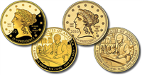 USA 2010 W James Buchanan's Lady Liberty $10 Gold Coin from First Spouse Series