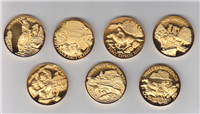 Great Triumphs of the American West Medals (Wittnauer Mint/Longines, 1972)