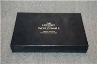 The History Of World War II Great Leaders European Theater Ingots Collection  (Lincoln Mint, 1975)