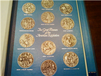 Franklin Mint  Great Women of the American Revolution Medals (Pewter)