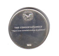 "International Silver: Charles A. Lindbergh Commemorative Medal ""The Conservationist"" (Sterling)"