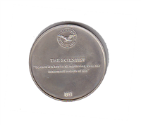 "International Silver: Charles A. Lindbergh Commemorative Medal ""The Scientist"" (Sterling)"