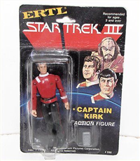 CAPTAIN KIRK   (Star Trek Iii: The Search For Spock, ERTL, 1984 - 1984)