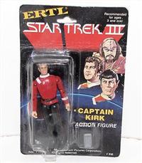 CAPTAIN KIRK   (Star Trek Iii: The Search For Spock, ERTL, 1984 - 1984)