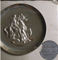 Unicorn Dyonisiaque by Salvadore Dali Limited Edition Collector Plate     (Lincoln Mint, 1971)