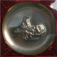 The 1972 Annual Mother's Day Limited Edition Collector Plate   (Lincoln Mint, 1972)