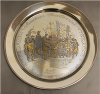 'Washington at Valley Forge --- 1777' Bicentennial Commemorative Plate   (Danbury Mint, 1976)