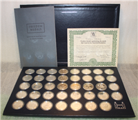 The Freedom Medals Collection symbolizing the words that inspired the American Revolution  (Royal Mint, 1973)