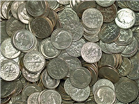 Common Roosevelt Silver Dimes (Any Date 1946 - 1964)