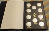 The Royal Air Force Museum's History of Man in Flight Medal Collection  (John Pinches/Franklin Mint, 1977)