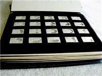 Franklin Mint  The Silver Bible Biblical Tablets Ingots