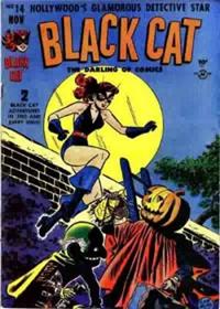 BLACK CAT COMICS  #14     (Harvey)