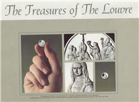 The Treasures of the Louvre Mini-Coin Collection  (Franklin Mint, 1977)
