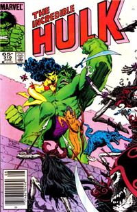 THE INCREDIBLE HULK  #310     (Marvel)