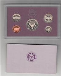 USA   5 Coins Proof Set   (U.S. Mint, 1989)